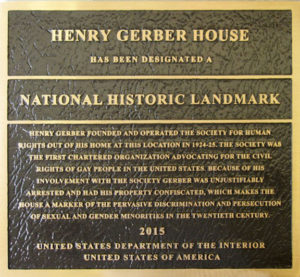 McClellan's public history class went to Washington, D.C., in early 2015 to nominate Gerber House a National Historic Landmark.