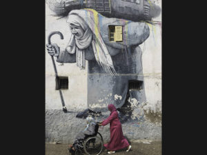 6/7 Some street art in Casablanca, Morocco, photographed by Catherine Huang.