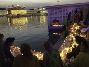 Louis Mirante visited Amritsar, India during Diwali, the Hindu Festival of Lights. The Sikhs pictured here have a similar festival on the same day.